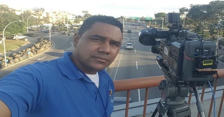 Camarógrafo Moisés de la Cruz