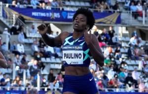 Marileidy Paulino llega en segundo lugar en la Liga Diamante