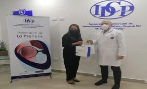 Dermatológico recibe medicamentos del Grupo Mallen